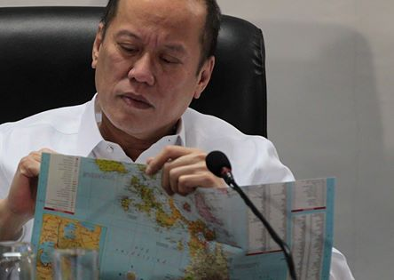 President Nonynoy is using EzMap